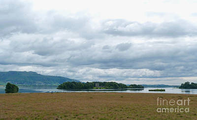 Photograph - Loch Leven Island by Phil Banks