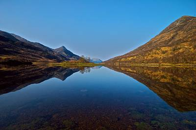 Art Print featuring the photograph Loch Leven by Stephen Taylor