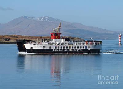 Loch Linnhe Ferry - Oban Art Print
