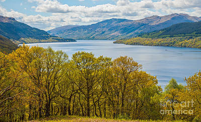 Photograph - Loch Lomond In May by Liz Leyden
