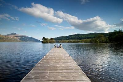 Photograph - Loch Lomond In Summer by Stephen Taylor