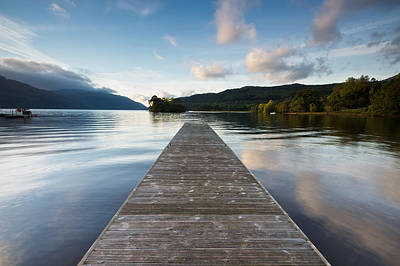 Photograph - Loch Lomond Jetty by Stephen Taylor