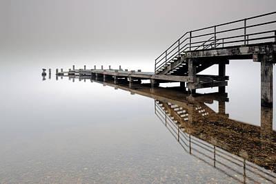 Photograph - Loch Lomond Pier by Grant Glendinning