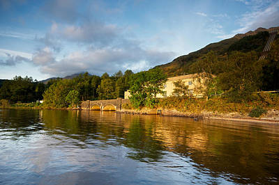 Photograph - Loch Lomond Powerstation by Stephen Taylor