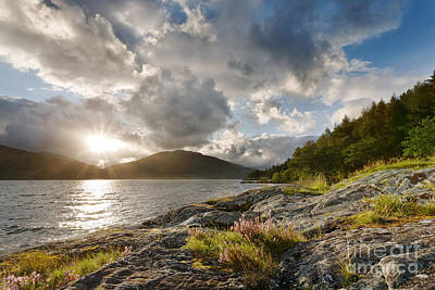 Spring Landscape Photograph - Loch Lomond by Rod McLean