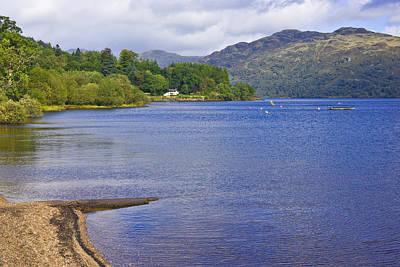 Photograph - Loch Lomond Shore - Scotland by Jane McIlroy
