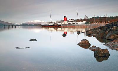 Photograph - Loch Lomond Shores by Grant Glendinning