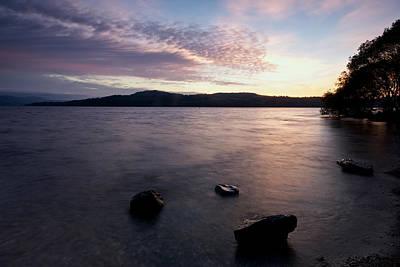 Photograph - Loch Lomond Sunrise by Stephen Taylor