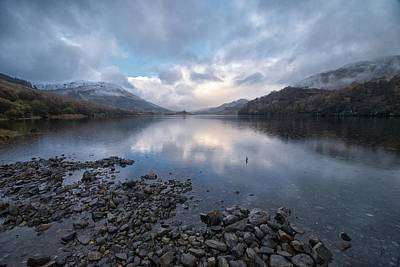 Art Print featuring the photograph Loch Lubnair by Stephen Taylor