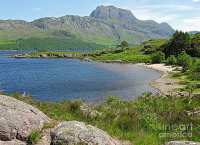 Photograph - Loch Maree And Slioch by Phil Banks