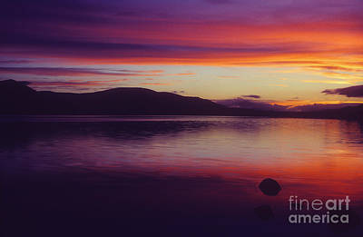 Photograph - Loch Morlich At Dusk - Cairngorm Mountains by Phil Banks