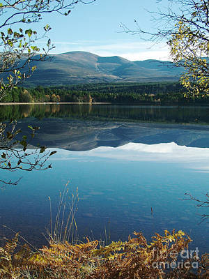Art Print featuring the photograph Loch Morlich - Autumn by Phil Banks
