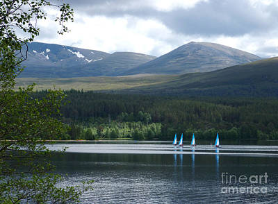Photograph - Loch Morlich - Cairngorm Mountains by Phil Banks