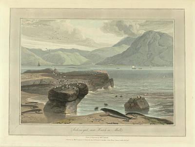 Loch-na-gael Near Knock On Mull Art Print by British Library