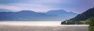 Loch Ness And Urquhart Castle Art Print