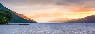 Photograph - Loch Ness At Dawn by Veli Bariskan