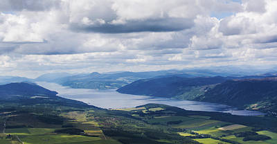 Photograph - Loch Ness From Above. by Veli Bariskan