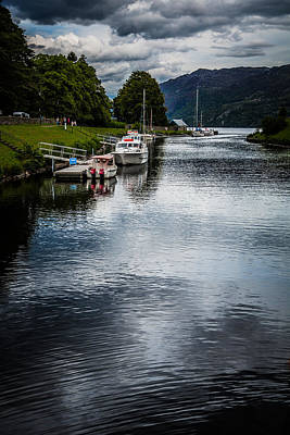 Photograph - Loch Ness Harbor by Matthew Onheiber