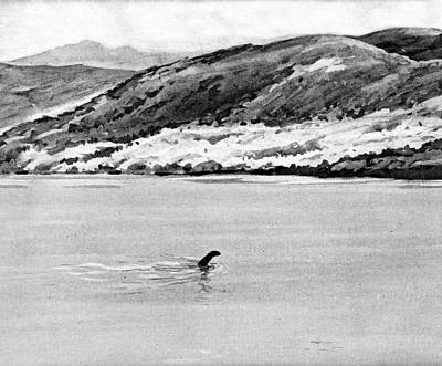 Loch Ness Photograph - Loch Ness Monster by Cci Archives