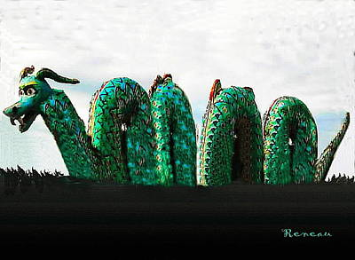 Photograph - Loch Ness Monster by Sadie Reneau