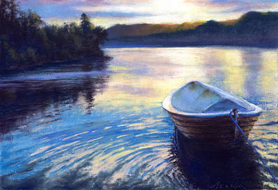 Painting - Loch Ness Morning by Marjie Eakin-Petty