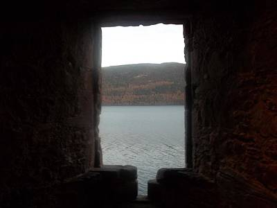 Loch Ness Portal Art Print