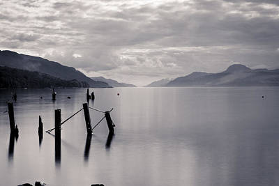Loch Ness Posts Art Print