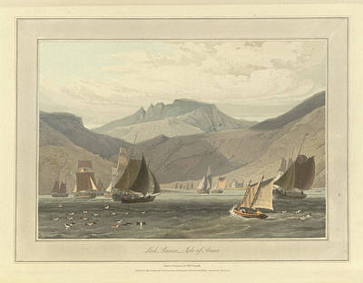 Loch Ranza On The Isle Of Arran Art Print