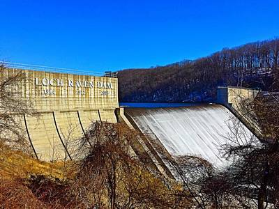 Photograph - Loch Raven Dam II by Chris Montcalmo