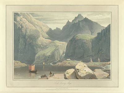 Loch Scavig Art Print by British Library