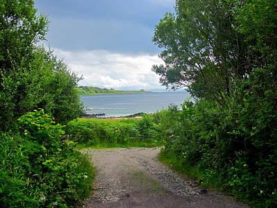 Photograph - Lochaline Landscape by Denise Mazzocco