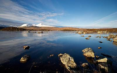 Photograph - Lochan Na Achlaise by Stephen Taylor