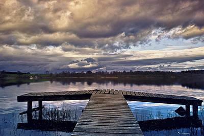 Photograph - Lochmaben Pier by Jean-Noel Nicolas