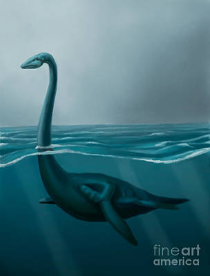 Photograph - Lochness Monster by Spencer Sutton