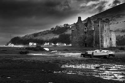 Photograph - Lochranza Castle by Ross G Strachan