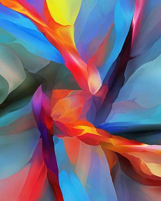 Digital Art - Loci by David Lane