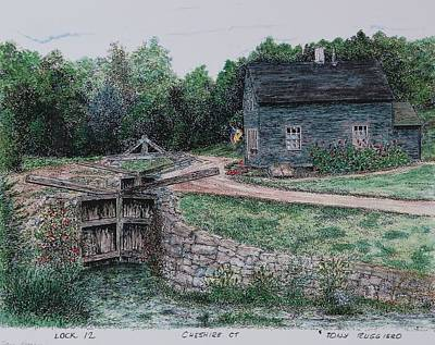 Lock 12 Color Art Print