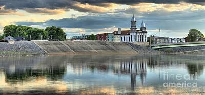Photograph - Lock Haven In The Susquehanna by Adam Jewell