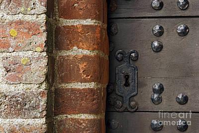Photograph - Lock by Inge Riis McDonald