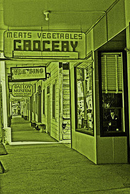 Photograph - No Groceries . . . Just Antiques by Joseph Coulombe