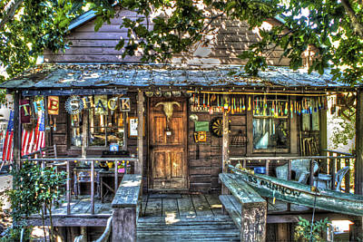 Photograph - Locke Town Shack by SC Heffner
