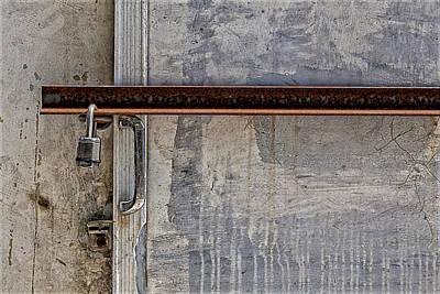 Locked And Barred Art Print by Robert Ullmann