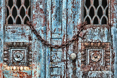 Photograph - Locked And Chained by Kathleen K Parker