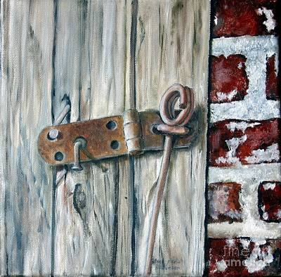 Painting - Locked by Anna-maria Dickinson
