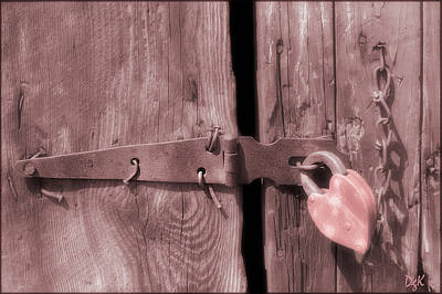 Photograph - Locked by Dolores Kaufman