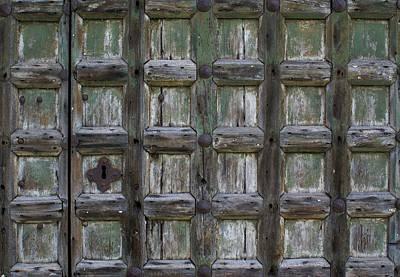 Locked Door Art Print by Ron Harpham