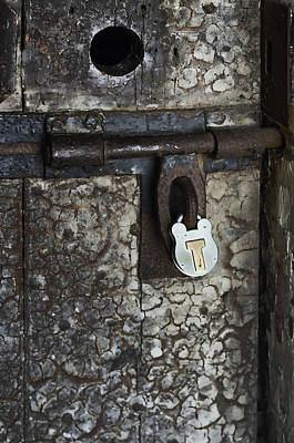 Photograph - Locked Door by Sharon Popek