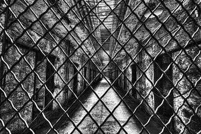 Eastern State Prison Wall Art - Photograph - Locked Down by Rob Dietrich