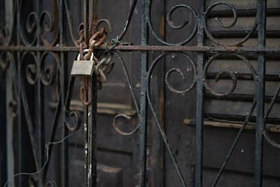 Locked Gates Art Print by Giovanni Arroyo