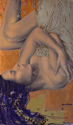Locked In Silence Art Print by Dorina  Costras